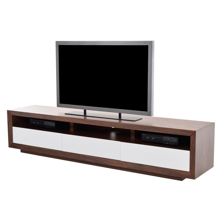 Innovative Common Walnut TV Stands In Contour Walnut Tv Stand El Dorado Furniture (View 44 of 50)
