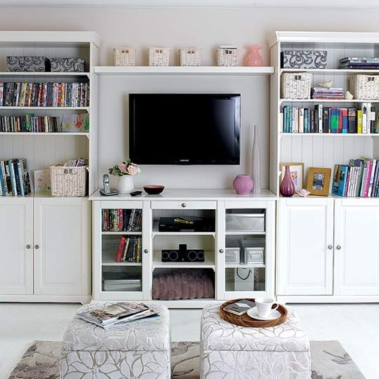 Innovative Deluxe Bookshelf TV Stands Combo Pertaining To Best 25 Tv Bookcase Ideas On Pinterest Built In Tv Wall Unit (View 48 of 50)