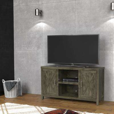 Innovative Deluxe Grey TV Stands With Regard To Gray Tv Stands Living Room Furniture The Home Depot (Image 35 of 50)