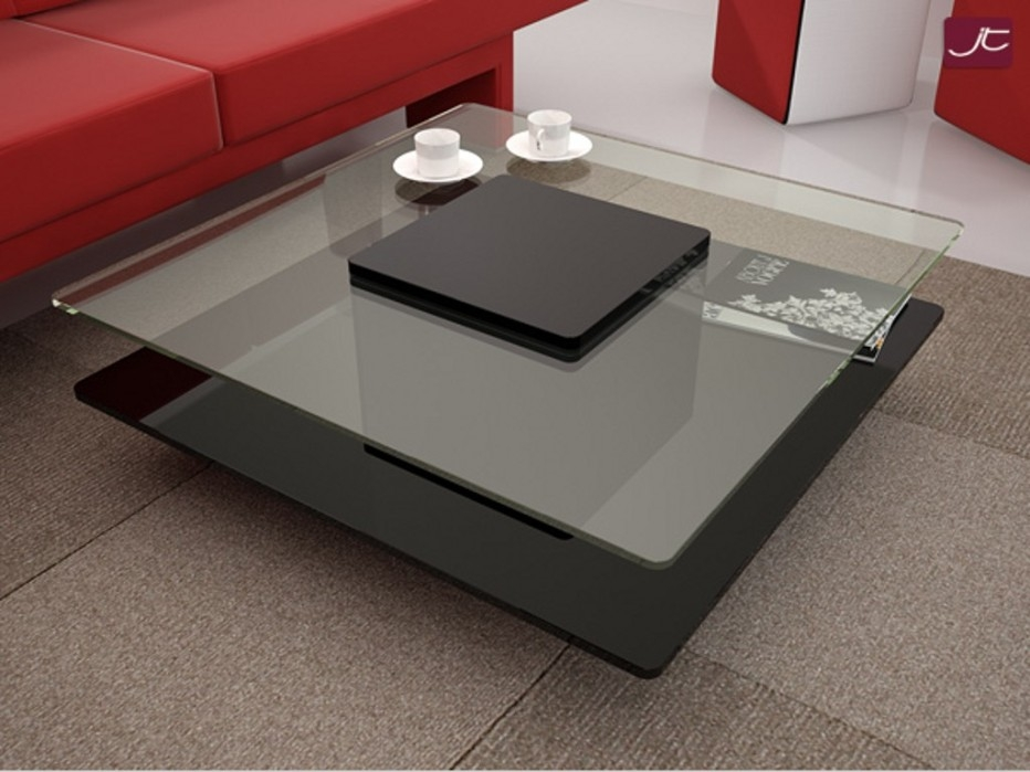 Innovative Deluxe Large Glass Coffee Tables In Coffee Table Extra Large Glass Coffee Table Contemporary Ideas (Image 32 of 50)
