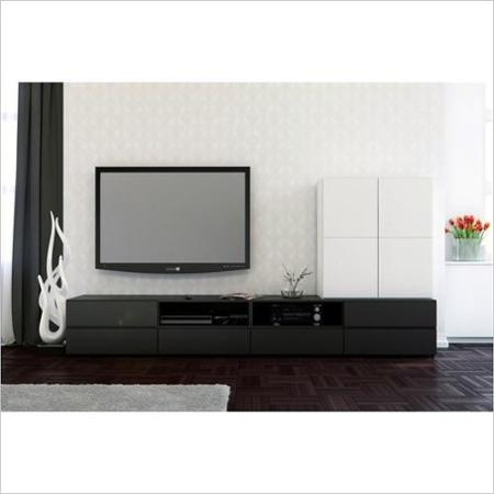 Innovative Deluxe Nexera TV Stands Pertaining To Buy Nexera Allure Tv Stand And Open Storage And 1 Door Storage (View 21 of 50)