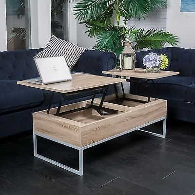 Innovative Deluxe Pop Up Top Coffee Tables  With Lift Top Coffee Table Set Accent End Espresso Storage Slider (Image 26 of 50)