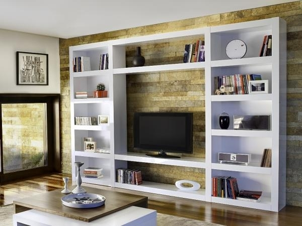 Innovative Deluxe TV Stands With Matching Bookcases Throughout Tv Stand Bookcase Combo And Uk Bookshelf Ikea Fdyoco (Image 32 of 50)