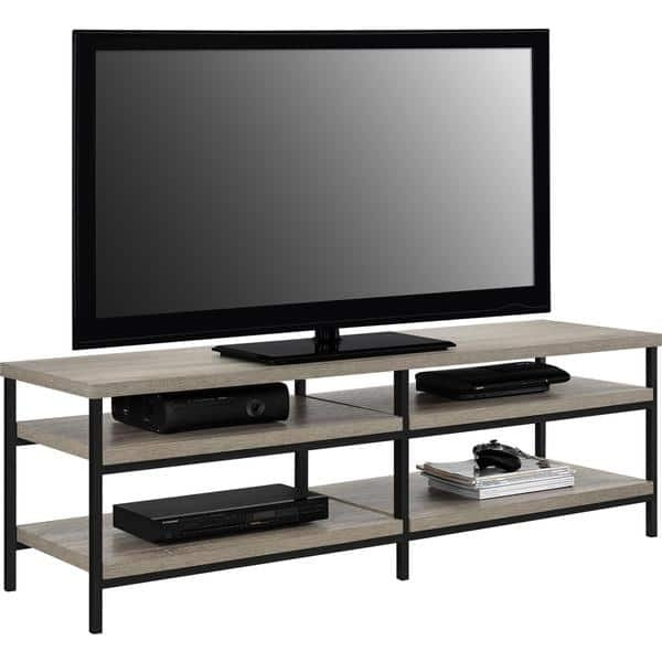 Innovative Deluxe Wooden TV Stands Throughout Ameriwood Home Elmwood 60 Inch Tv Stand Free Shipping Today (Image 26 of 50)