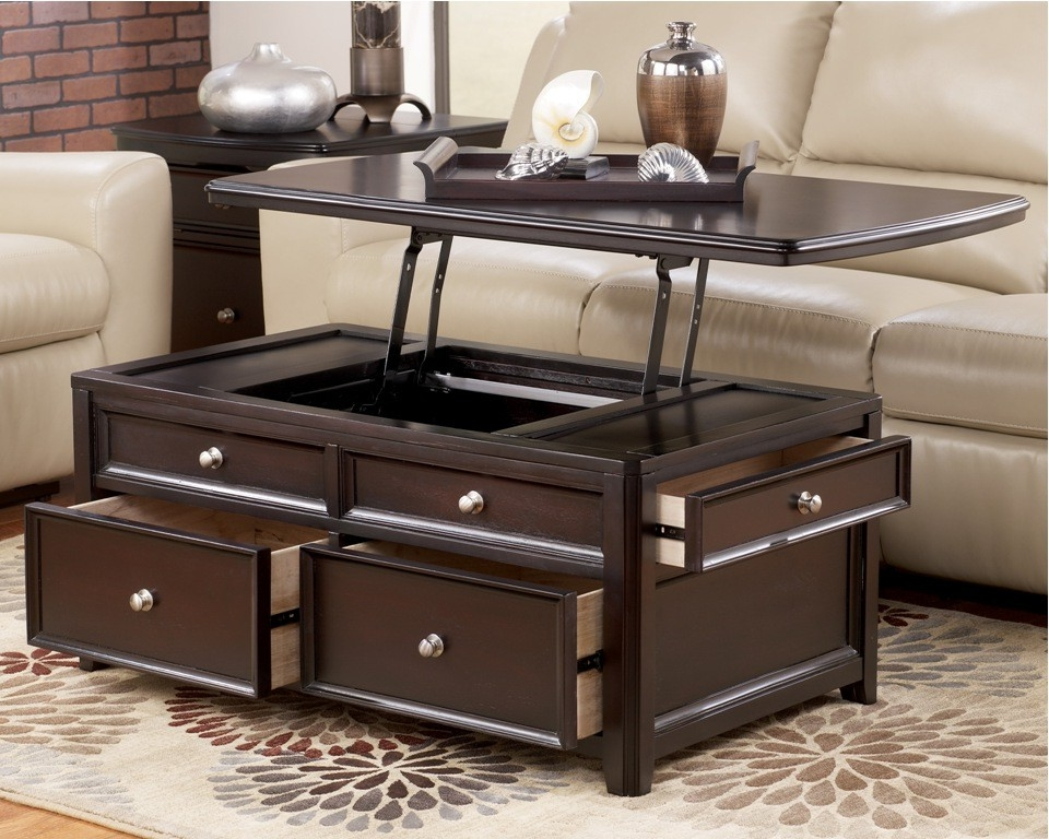 Innovative Elite Coffee Tables With Lift Top And Storage Within Coffee Table Astounding Lift Top Trunk Coffee Table Black Lift (Image 27 of 50)