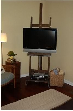 Innovative Elite Easel TV Stands For Flat Screens Intended For Allen Tv Stand Foter (View 39 of 50)