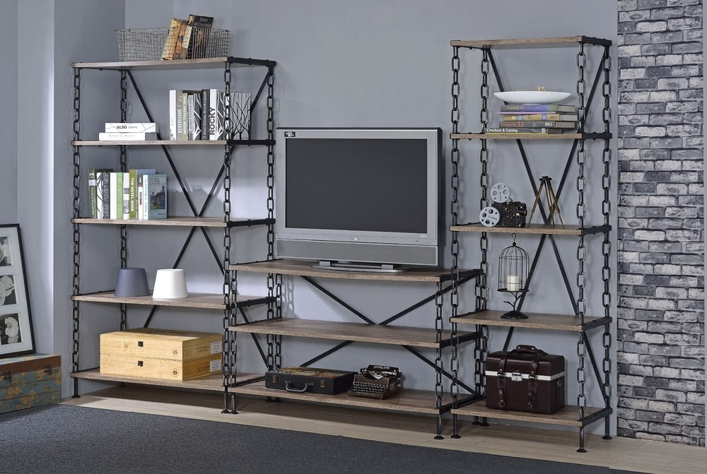 Innovative Elite Industrial Style TV Stands With Regard To Industrial Style Tv Stand (Image 34 of 50)