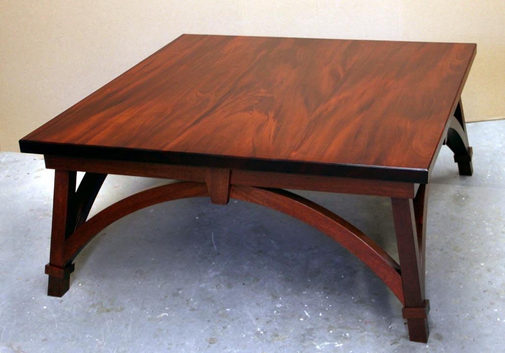 Innovative Elite Mahogany Coffee Tables Pertaining To Dorset Custom Furniture A Woodworkers Photo Journal A Square (Image 26 of 50)