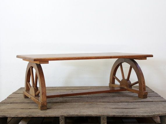 Innovative Elite Monterey Coffee Tables With Regard To 25 Best Wagon Wheels Images On Pinterest Wagon Wheel Table (Image 28 of 50)