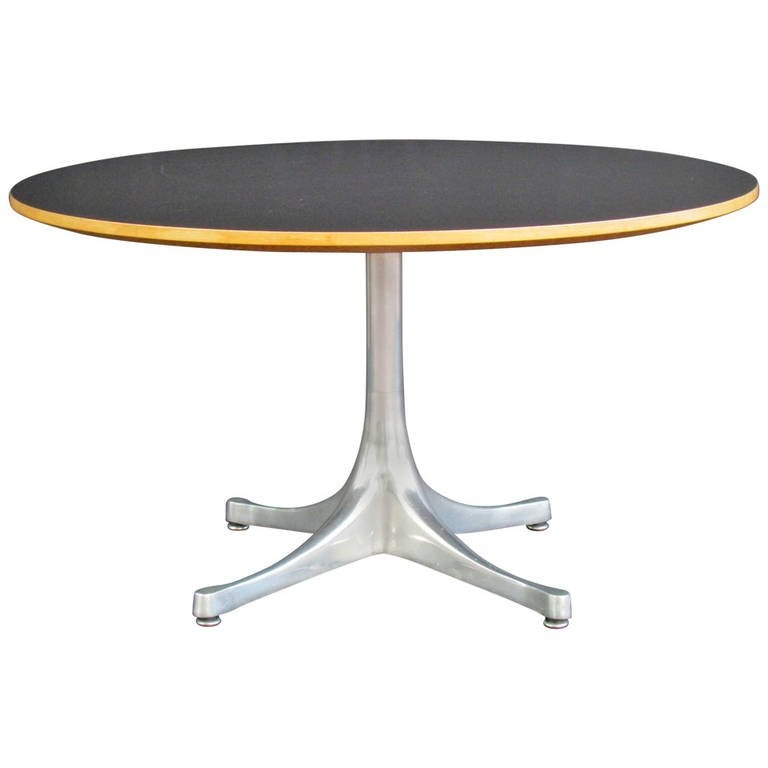 Innovative Elite Nelson Coffee Tables Inside George Nelson Pedestal Base Table For Herman Miller At 1stdibs (Image 23 of 50)