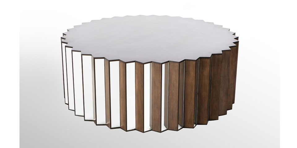 Innovative Elite Round Mirrored Coffee Tables Regarding Round Mirrored Coffee Table Lovely Round Coffee Table For Cheap (Image 24 of 40)