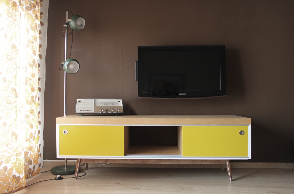 Innovative Elite Vintage Style TV Cabinets Intended For Old Ikea Lack Tv Furniture Hacked Into Vintage Style Ikea Hackers (Image 32 of 50)