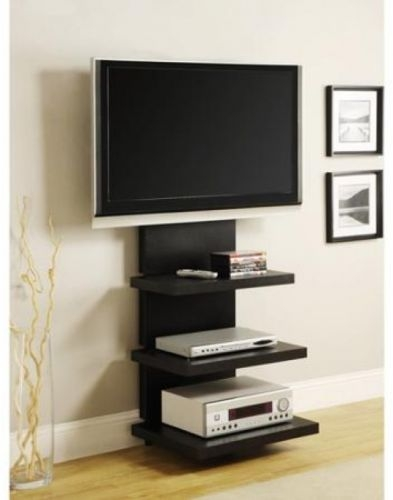 Innovative Elite Wall Mounted TV Stands For Flat Screens With Regard To Tv Stand Entertainment Center Media Furniture Wood Home Flat (Image 24 of 50)