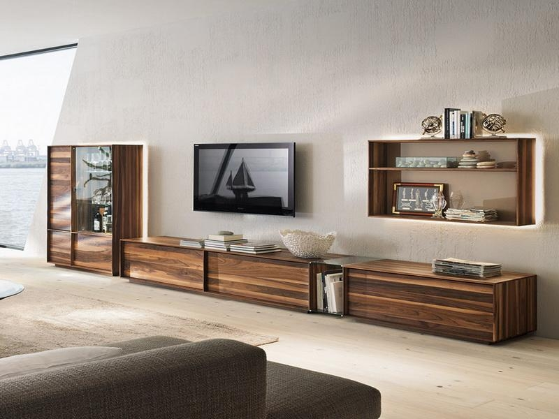 Innovative Famous Low Long TV Stands In Tv Stands Amazing Unfinished Pine Tv Stand Knotty Pine Corner Tv (View 7 of 50)