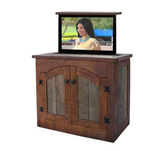 Innovative Famous Rustic TV Cabinets Inside Custom Rustic Furniture Don Mcaulay (Image 30 of 50)
