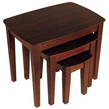 Innovative Famous Stackable Coffee Tables For Amazon Winsome Wood Nesting Table Walnut Kitchen Dining (Image 25 of 50)