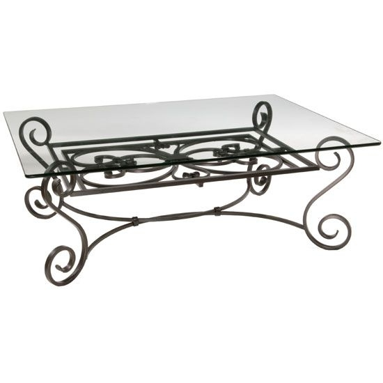 Innovative Famous Wrought Iron Coffee Tables Pertaining To Best 20 Wrought Iron Table Legs Ideas On Pinterest Iron Table (Image 28 of 50)