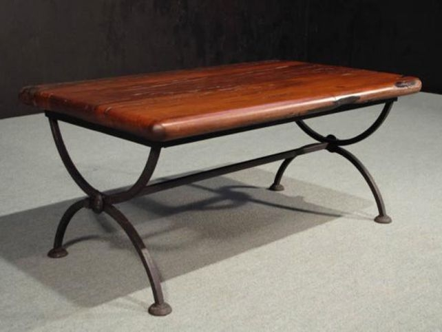Innovative Famous Wrought Iron Coffee Tables Pertaining To Wrought Iron Patio Coffee Table (Image 29 of 50)