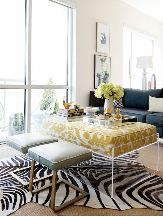 Innovative Fashionable Animal Print Ottoman Coffee Tables Pertaining To 224 Best Decorating With Animal Prints Images On Pinterest (Image 34 of 50)