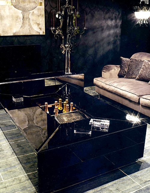 Innovative Fashionable Black Glass Coffee Tables  Throughout Black Glass Coffee Table For Great Choice Of Contemporary And (Image 39 of 50)