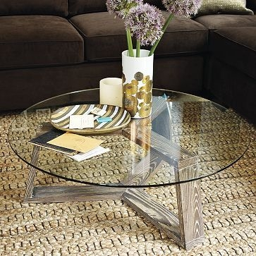 Innovative Fashionable Glass Circular Coffee Tables Pertaining To Best 25 Round Glass Coffee Table Ideas On Pinterest Ikea Glass (Image 30 of 50)