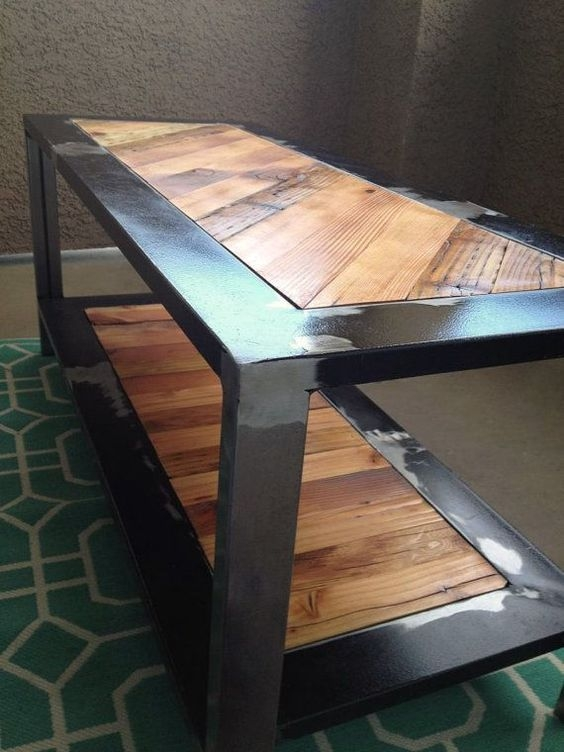 Innovative Fashionable Industrial Style Coffee Tables With Regard To 5641 Best Industrial Style Images On Pinterest Industrial (View 37 of 50)