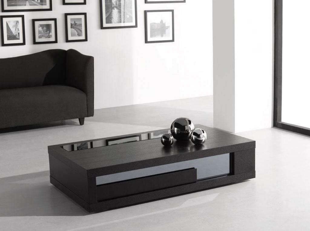 Innovative Fashionable Large Low White Coffee Tables Pertaining To Black Modern Coffee Table Large Elegant Black Modern Coffee (View 47 of 50)