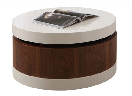Innovative Fashionable Round Coffee Tables With Storages For Coffee Table Wonderful Round Coffee Table With Storage Round (Image 32 of 50)