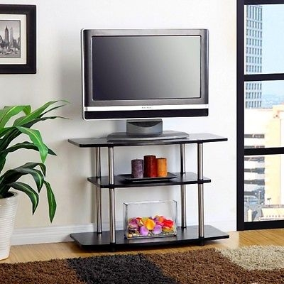 Innovative Fashionable Tall TV Stands For Flat Screen With Tall Tv Stand Flat Screen Television 32 Inch Media Center Living (Image 30 of 50)