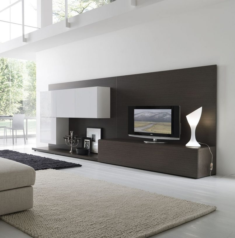 Innovative Fashionable White TV Stands For Flat Screens For Furniture Tv Stand Narrow Tv Unit Modern Tv Cabinet Designs (Image 35 of 50)