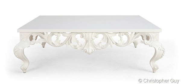 Innovative Favorite Baroque Coffee Tables For Baroque White Lacquer Coffee Table Decorating Diva (View 5 of 50)