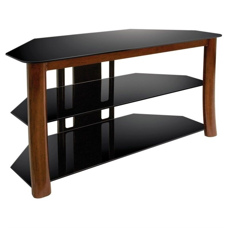 Innovative Favorite Bell'O Triple Play TV Stands In Bello Triple Play 42 Inch Corner Tv Stand Tp (Image 32 of 50)