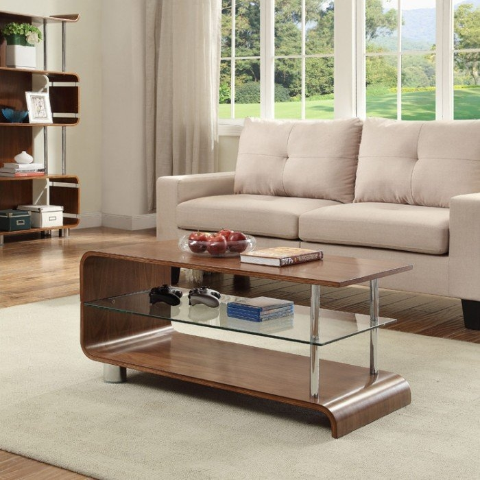 Innovative Favorite Curve Coffee Tables With Regard To Curve Bs203 Curved Walnut Coffee Table (Image 28 of 50)