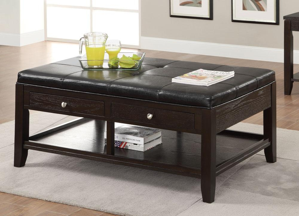 Innovative Favorite Footstool Coffee Tables Throughout Padded Coffee Table Ideas (Image 23 of 40)