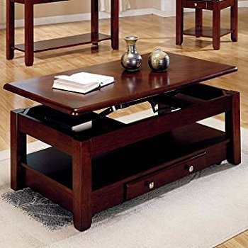 Innovative Favorite Lift Top Coffee Tables With Storage Inside Amazon Lift Top Coffee Table In Cherry Finish With Storage (Image 33 of 50)