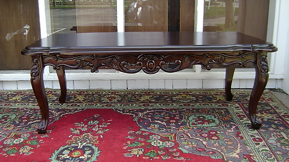 Innovative Favorite Mahogany Coffee Tables Intended For Classic Very Large Louis Xv Mahogany Coffee Table For Sale (View 40 of 50)