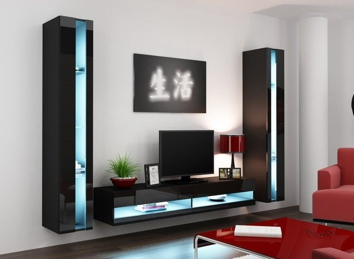 Innovative Favorite Modular TV Stands Furniture In Modular Tv Stands  Furniture Home Design Ideas (Image