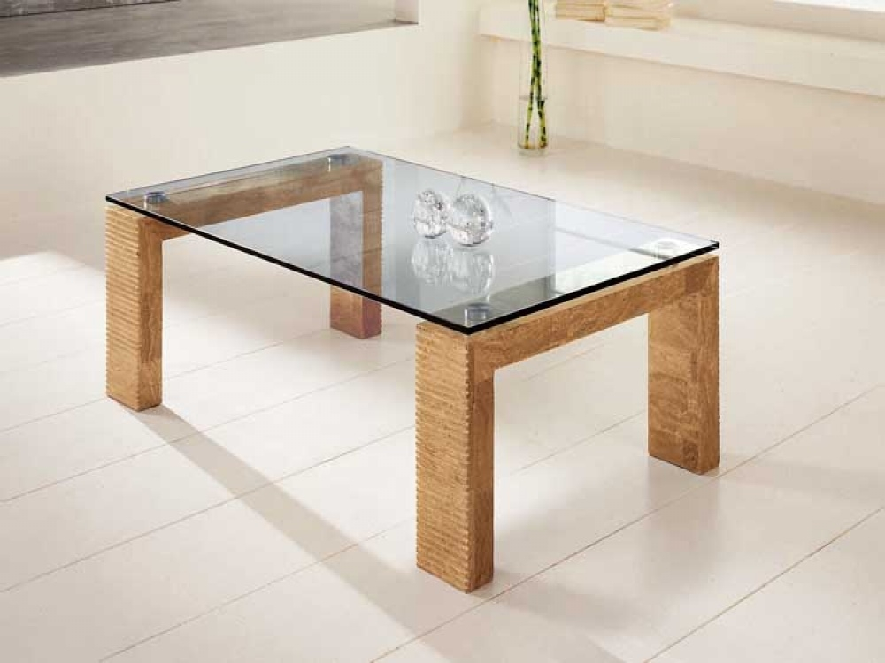 Innovative Favorite Reclaimed Wood And Glass Coffee Tables Pertaining To Glass And Wood Coffee Tables (View 12 of 50)