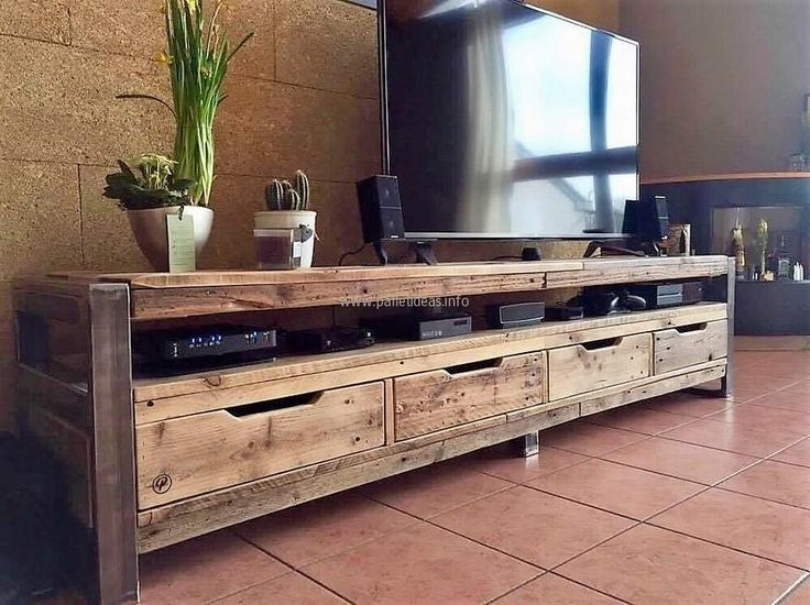 Innovative Favorite Reclaimed Wood And Metal TV Stands Within Best 10 Reclaimed Wood Tv Stand Ideas On Pinterest Rustic Wood (Image 35 of 50)
