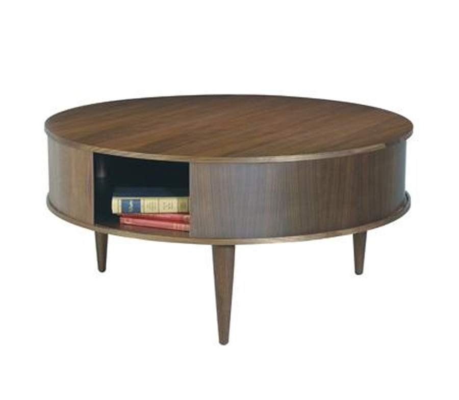 Innovative Favorite Round Coffee Tables With Drawer For Impeccable Round Side Table With Drawer 82 Towards Fabulous Side (Image 27 of 50)