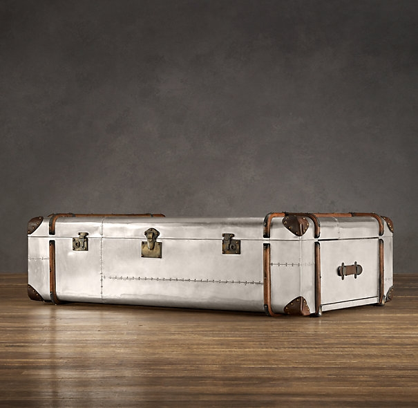 Innovative Favorite Silver Trunk Coffee Tables Pertaining To Trunk Coffee Table Stunning Wooden Trunk Coffee Table Elegant (Image 26 of 40)