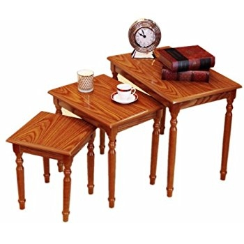 Innovative Favorite Stackable Coffee Tables Within Amazon Winsome Wood Nesting Table Walnut Kitchen Dining (View 26 of 50)