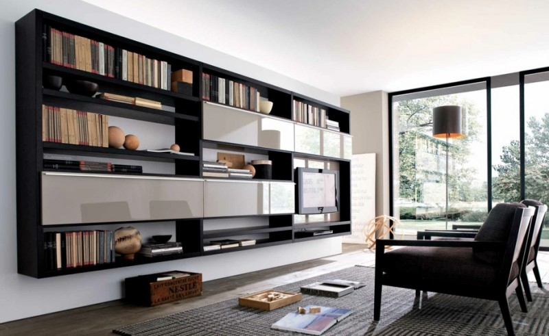 Innovative Favorite TV Stands And Bookshelf Within Tv Stands Astonishing Entertainment Center Bookshelf 2017 Gallery (View 16 of 50)