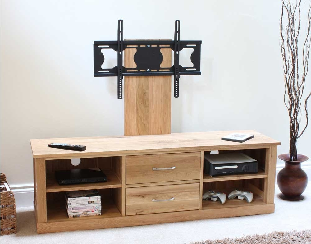 Innovative Favorite Wide Screen TV Stands Pertaining To Mobel Oak Widescreen Tv Cabinet (Image 27 of 50)