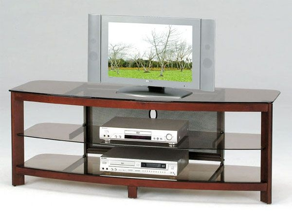Featured Image of Wood TV Stands With Glass Top