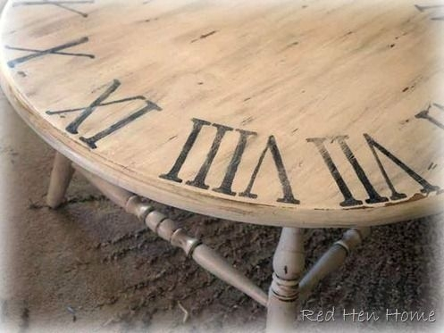 Innovative High Quality Clock Coffee Tables Round Shaped Intended For Best 20 Clock Table Ideas On Pinterest Small Round Side Table (View 49 of 50)