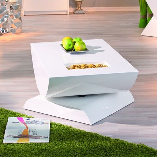 Innovative High Quality Coffee Tables White High Gloss With Regard To Best 25 White Gloss Coffee Table Ideas On Pinterest Table Tops (Image 24 of 40)