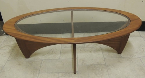 Innovative High Quality Coffee Tables With Oval Shape Inside Antiques Atlas Retro 1960s G Plan Oval Shaped Astro Table (View 39 of 50)