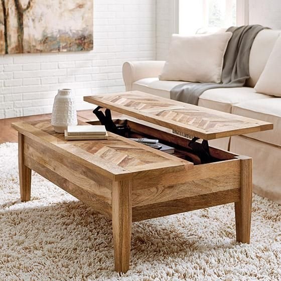 Innovative High Quality Hardwood Coffee Tables With Storage Within Best 25 Coffee Table With Storage Ideas Only On Pinterest (View 20 of 50)