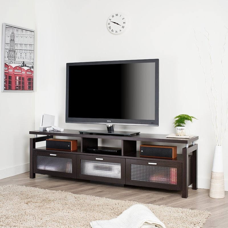 Innovative High Quality Hokku TV Stands Within Hokku Designs Bonaventure 71 Tv Stand Reviews Wayfair (Image 33 of 50)